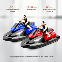 Remote Control Motor Boat Speedboat Rivers And 2.4Ghz Lakes Water Toys For Swimming Pools Lakes Boys Gift RC Speedboat RC toys