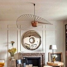 Lustre suspendu pour salle à manger ou chambre moderne, bar, café, lampe, plafond, fibre de verre et polyuréthane
