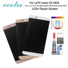 Für Letv X620 X625 LCD Display Und Touch Screen Le 2 Pro X520 X522 X526 X527 Montage 5.5 Für leEco S3 X626 + Werkzeuge + Film + Kleber