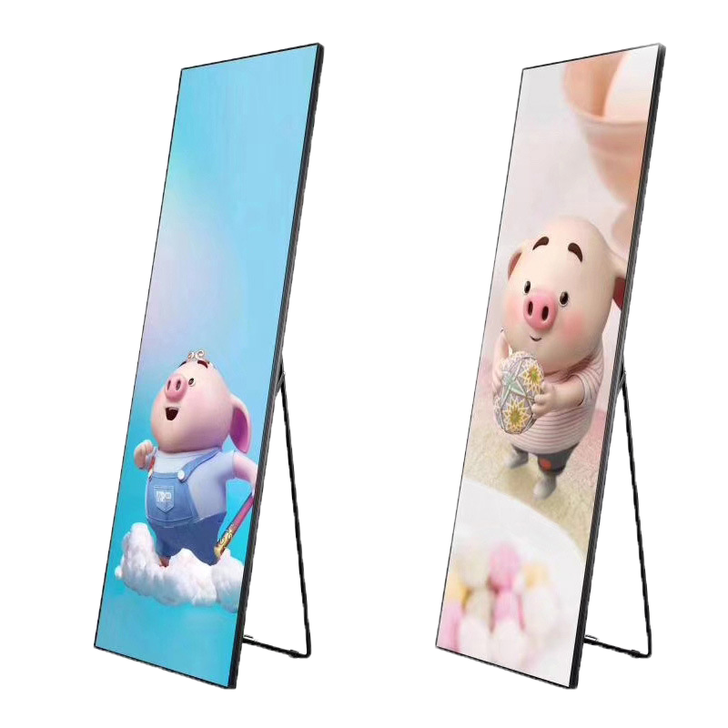 Wifi P2.5 Indoor Pantalla  Advertising Promotion Led  Screen Standing Floor Led  Poster Display