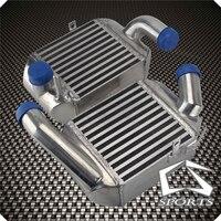Front Side Mount Intercooler fit for 00 02 Audi S4 B5/01 05 Audi Allroad A6 C5 2.7L