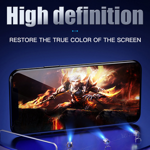 Image 4 - 200D Full Cover Protective Glass On The For iPhone SE 11 Pro Max X Xs XR Tempered Screen Protector iPhone 8 7 Plus 6 6s Glass