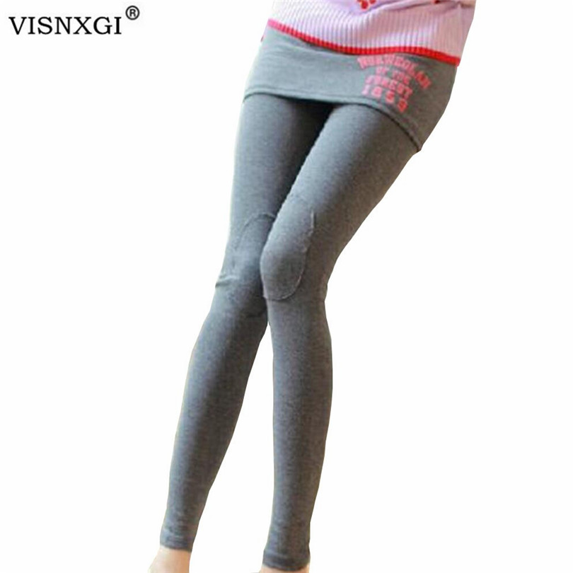 Woman Leggings 2020 Fashion New Autumn Letters Skirt Pants Thin Hip Pants Letter Print Mid Ankle-Length Knitted Fabric Pants