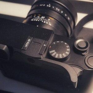 Image 1 - Ze stopu aluminium ze stopu aluminium kciuk uchwyt metalowy uchwyt kciuka Hot pokrowiec na buty mocowanie kamery dla Leica Q2 p Typ 116 czarny czerwony