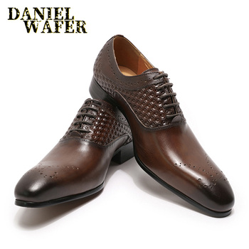 LUXURY BRAND FORMAL MEN OXFORD BROGUES SHOE BLACK COFFEE MEN FORMAL SHOES POINTED TOE LACE UP OFFICE WEDDING LEATHER SHOES MEN pointed toe lace up oxford men shoes high heels embossed leather luxury party shoes brand design height increasing wedding shoes