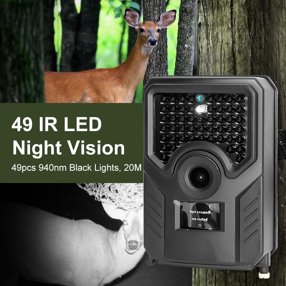 12MP 1080P 26PCS IR LED Night Vision Hunting Trail Farm Wildlife Security Camera