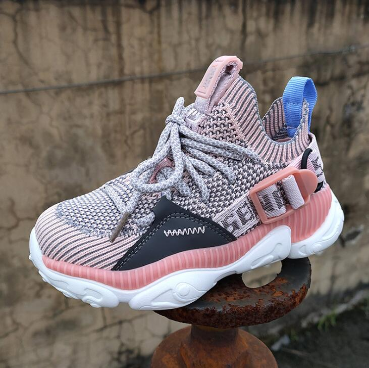 New Children Shoes Boys Sneakers Girls Sport Shoes Child Leisure Trainers Casual Breathable Kids Running Shoes Basketball Shoes