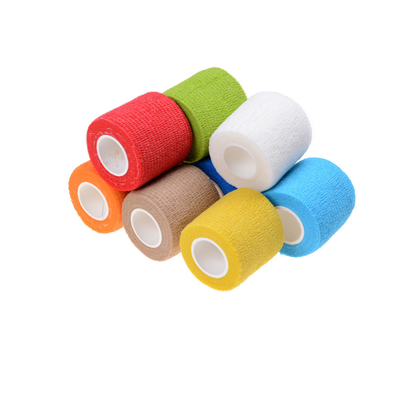 4.5*5cm Waterproof Elastic Self Adhesive Medical Bandage Gauze Tape Muscle Care