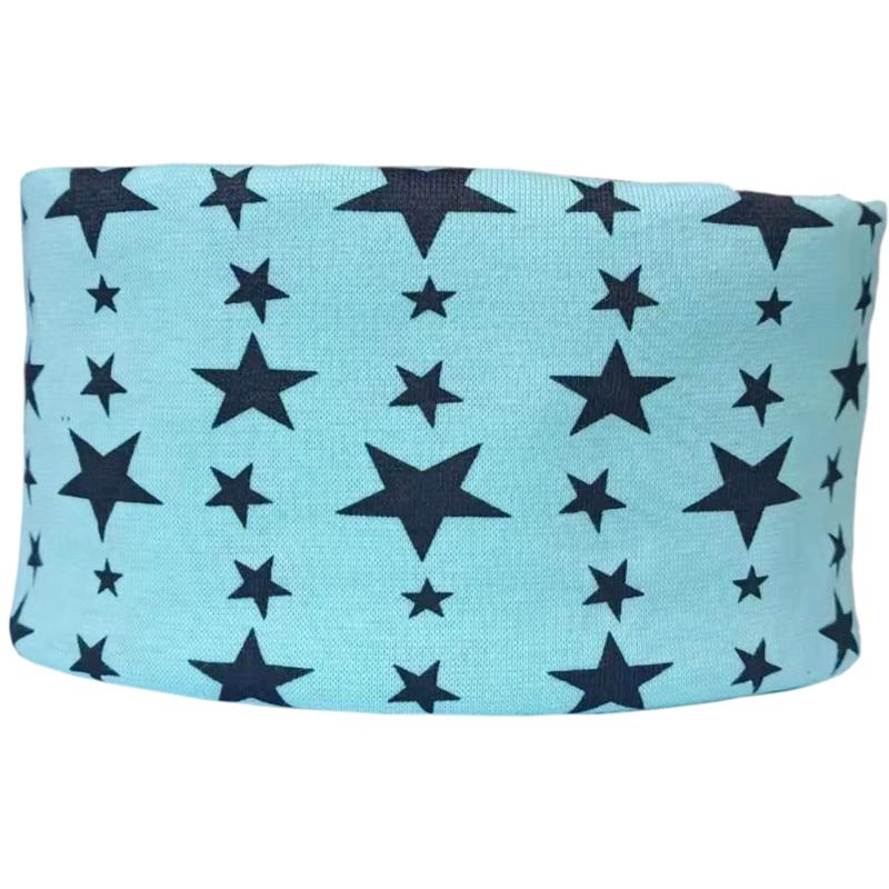 green star baby scarf