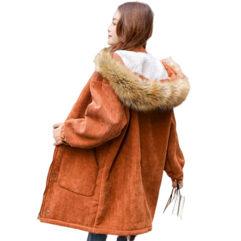 Winter Jacket Women Thickened Manteau Femme Hiver Casacos Feminino Harajuku Bayan Mont Icebear Dames Jassen Long Coat