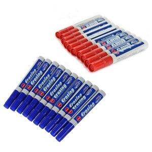 20 шт. для офисной домашней Школьной Доски Ручка: 10 шт. стираемый маркер для белой доски красный карандаш и 10 шт. маркер для войлока маркер Erasa