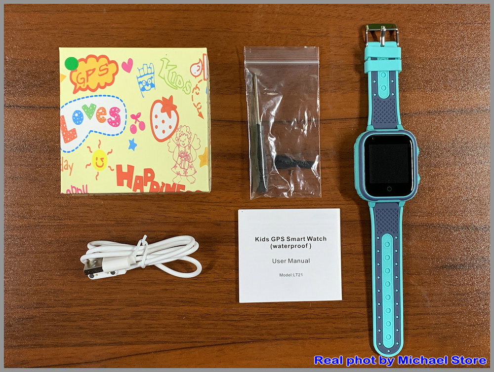 H7b8f662f2285448c9790a22154cb4dcaK LT21 4G Smart Watch Kids GPS WIFI Video Call SOS IP67 Waterproof Child Smartwatch Camera Monitor Tracker Location Phone Watch