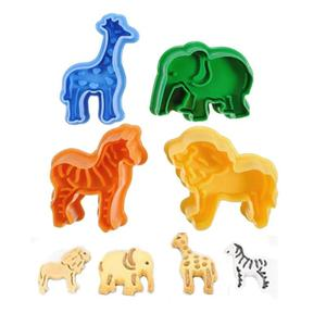 4pcs/set Durable Animal Pattern Pastry-making Mold Premium Biscuit Mold Cute Cookie Biscuit Cutter For Baking DIY Cookie Cutter