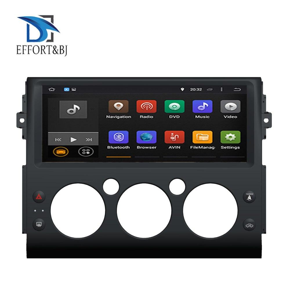 <font><b>Android</b></font> 9.0 Octa Core 4GB RAM Car GPS Player Radio Stereo For Toyota FJ Cruiser 2006-2019 GPS Navigation Car Radio Stereo WIFI