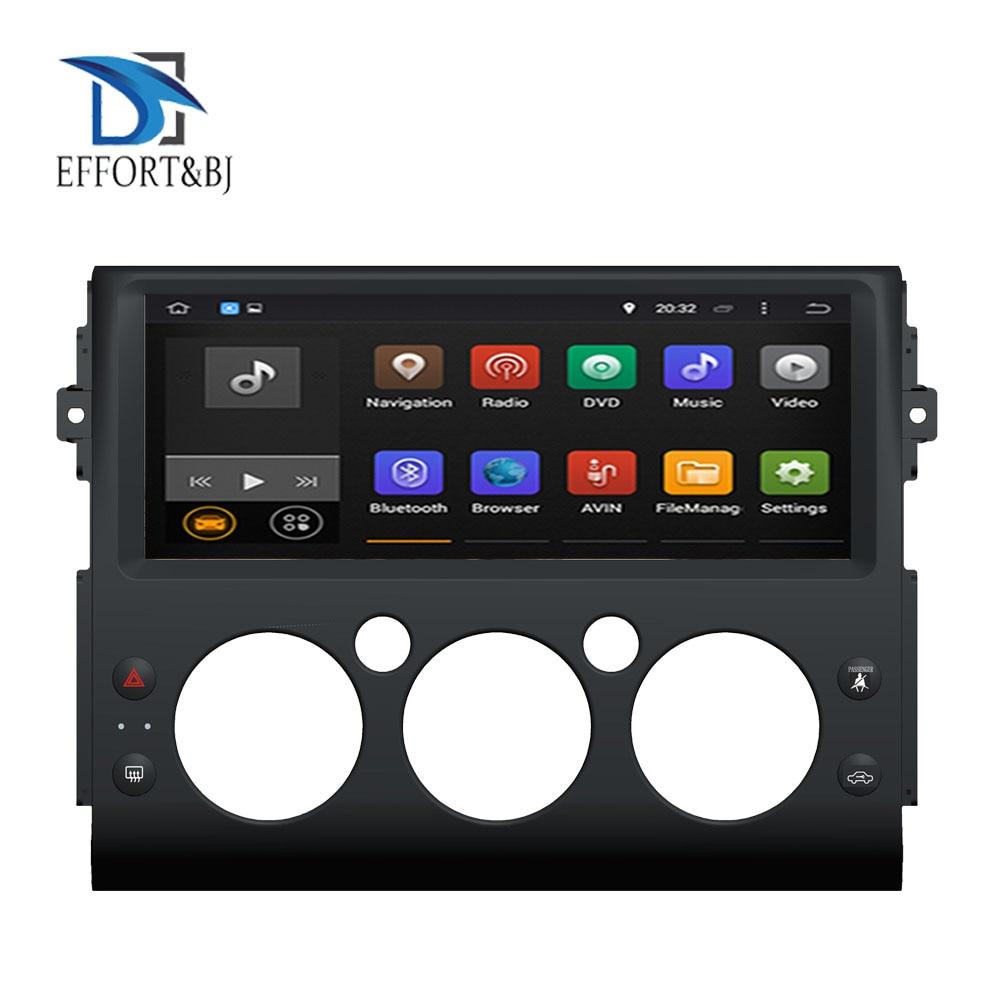 Android 9.0 Octa Core 4GB RAM Car GPS Player Radio Stereo For Toyota FJ Cruiser 2006-2019 GPS Navigation Car Radio Stereo WIFI