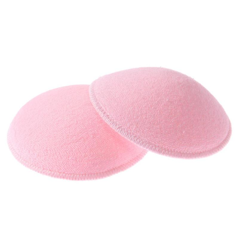 2PCS Intimate Pregnant Nurse Enfermera Bra Pad Reusable Washable Cotton Breast Feeding Pads Absorbent Pregnancy Nursing Mom Care