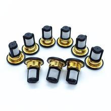 100 pezzi commercio allingrosso di auto parte iniettore carburante filtro per N issan ugello AY F1016A