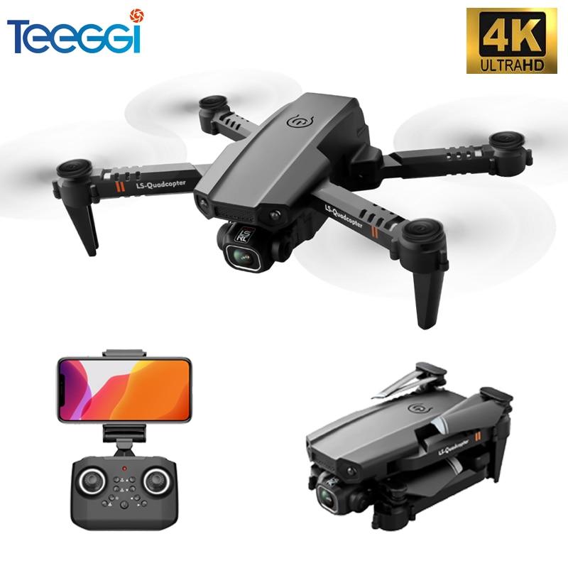 Teeggi XT6 Mini Drone 4K 1080P HD Camera FPV Drone Quadcopter Altitude Hold Foldable RC Quadcopter Dron Kids Toys VS M73 KF611|RC Quadcopter| - AliExpress