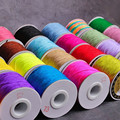 NEW 10Meters/lot 0.6mm Nylon Cord Thread Chinese Knot Macrame Cord Bracelet Braided String DIY Tassels Beading String Thread
