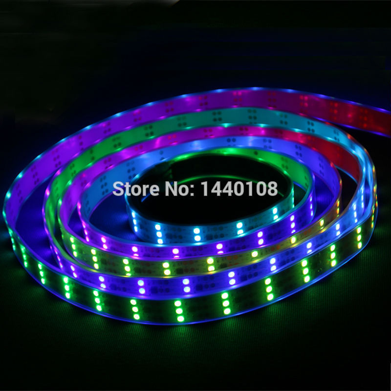 10M/lot 5m/roll WS2811 90leds/m Flexible Addressable Light With Tube Waterproof Ip67 5050 SMD Rgb Magic Color Led Strip DC12V