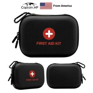 Image 5 - US Captain Estuche para botiquín de primeros auxilios, portátil viaje, medicina, paquete, bolsas de kit de emergencia, pequeño organizador divisor de almacenamiento de medicina