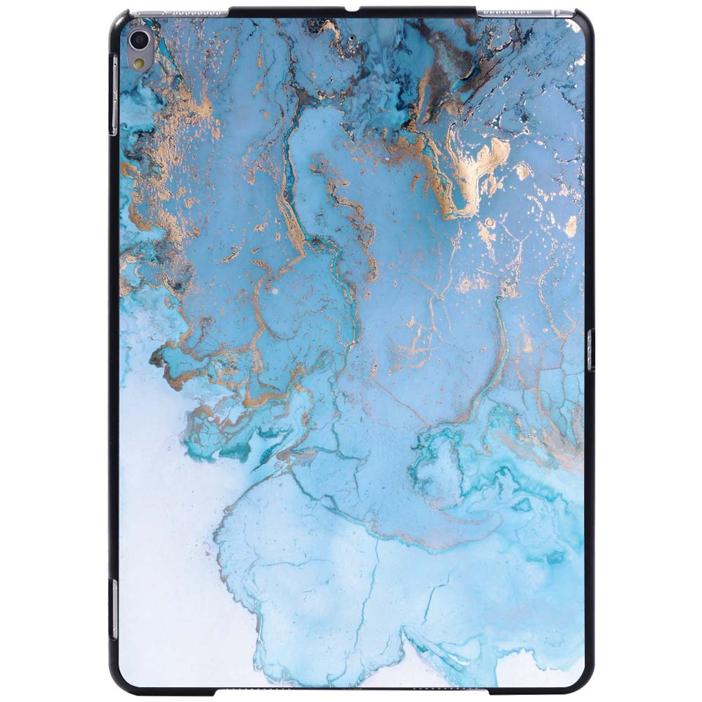 blue oil pattern Beige For Apple iPad 8 10 2 2020 8th 8 Generation A2428 A2429 Slim Printed Marble tablet