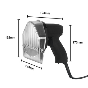 Image 5 - ITOP Electric Kebab Slicer Doner Kebab Cutter Shawarma And Gyros Cutter Kitchen Knife With 2 Blades Meat Slicer Food Processors