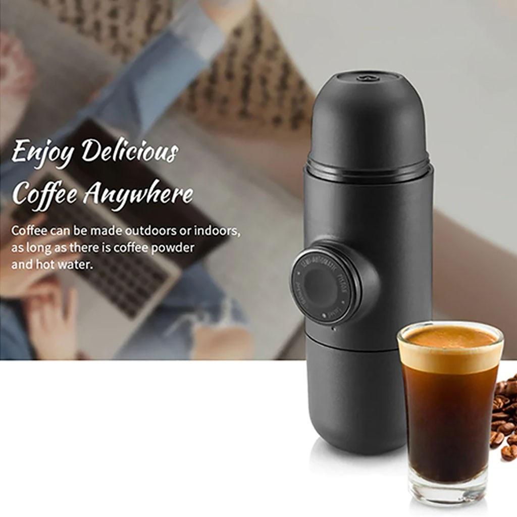 Coffee Machine Portable Mini Handheld Coffee Machine Espresso Pot Home Office Practical Convenient Gadgets #YL10