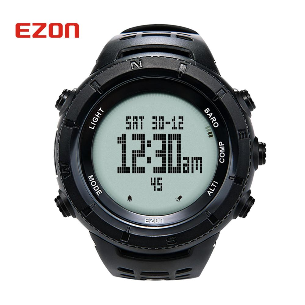 Image 2 - EZON Mens Digital Outdoor Sport Watch Clock Women 