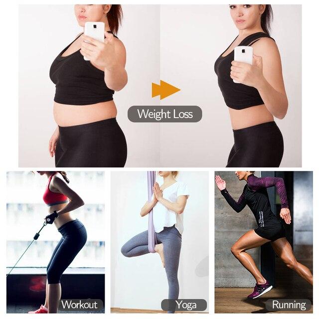 Boned Latex Waist Trainer Corsets for Women Weight Loss Body Trimmer Belt Slimming Shaper Workout Faja Compression Sweat Girdles 5