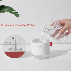 500 мл большой емкости ультразвуковой увлажнитель воздуха с романтической лампой USB автомобильный распылитель арома-масла диффузор ароматерапия увлажнители