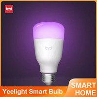 Yeelight 1S YLDP13YL E27 8,5 W RBGW bombilla LED inteligente funciona con Homekit AC100-240V para lámpara de mesa de escritorio