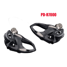 PD-R7000 105 Series SPD-SL Clipless Road Bike Pedal Self-Locking SPD Pedals Single Platform Cleat Set Included with SH11 Cleats