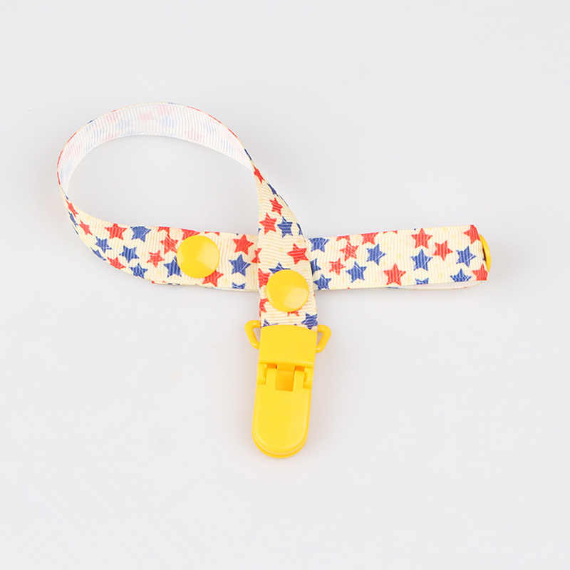 1pc Baby Pacifier Chain Clip Holder Nursing Teether Dummy Soother Nipple Leash Strap Baby Gift Babe Care