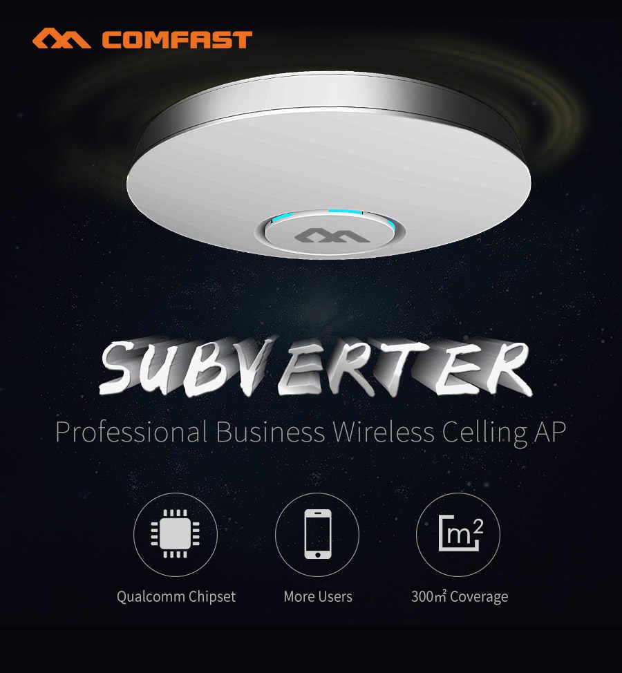 COMFAST CF-E320V2 300M WiFi tavan kablosuz erişim noktası 802.11b/g/n QCA9531 kurumsal Wifi sistemi AP 48V POE açık DDWRT erişim noktası AP