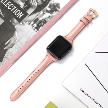 Genuine Leather strap for apple watch band 44mm 40mm 42mm 38mm iwatch bracelet series 5 4 3 2 1 bracelet watchband Accessories modern buckle strap for apple watch band 38mm 40mm 42mm 44mm bracelet genuine leather weave watchband for iwatch 4 3 2 1 belt