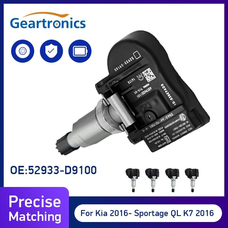 52933-D9100 For Kia Sportage 2017-2019 52933D9100 TPMS Sensor Tire Pressure Monitor Sensors For Hyundai Elantra Car Alarm System