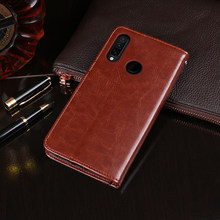 "For Lenovo Z6 Lite Case 6.3"" Magnetic Flip Crazy Horse Pattern Leather Case For Lenovo Z6 Youth Case L38111 Wallet Phone Cover(China)"