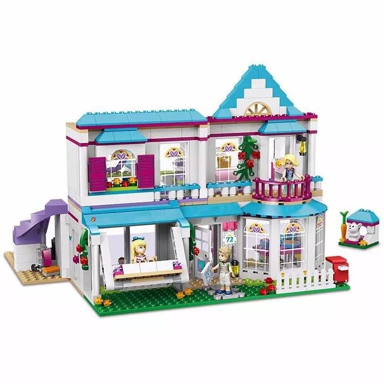 Серия «хорошие друзья» для девочек, набор для дома «Стефани», строительные блоки, креативная сборка, God Friends, развивающие подарки, игрушки для девочек|Блочные конструкторы|   | АлиЭкспресс