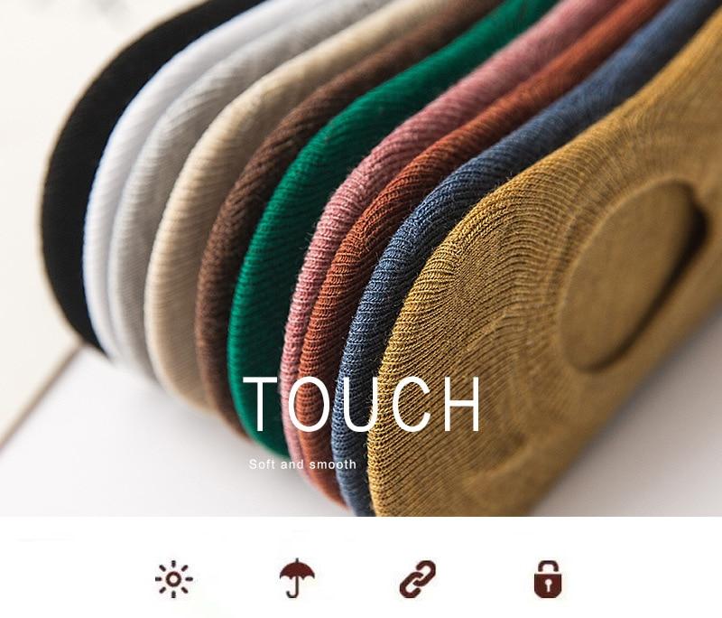 100 pairs Chic Anti-Bacterial Deodorant Sox women Soild Open striped women socks abstract Design non-slip short socks