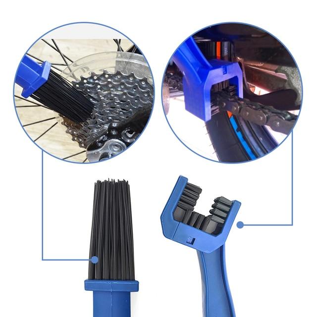 универсальный инструмент для чистки мотоциклов зубчатая щетка фотография