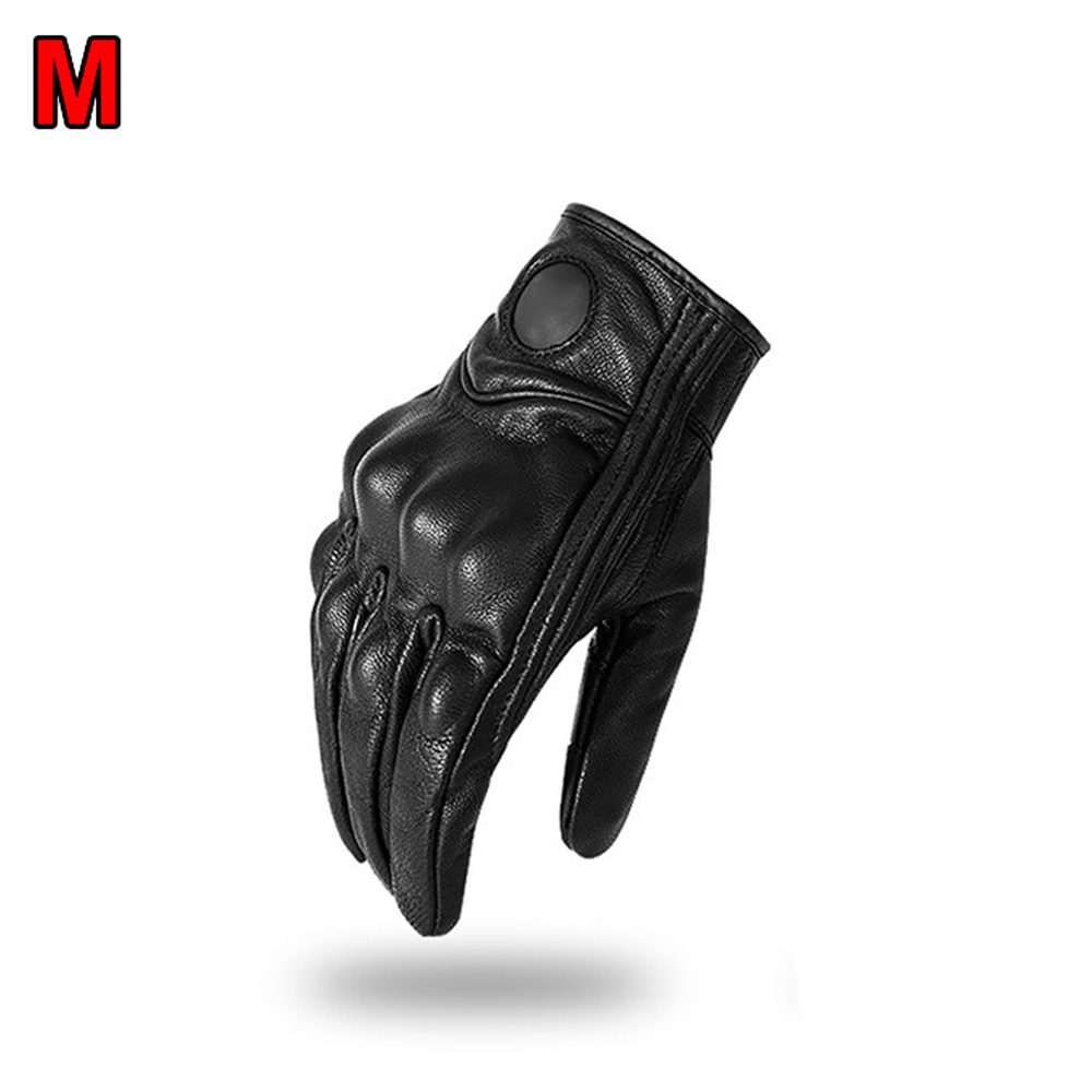 1 Pair Motorcycle Off road Gloves Touchable Flexible Knuckle Armor Protection|Gloves| |  - title=