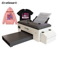 A3 Desktop Warmte Transfer Pet Film Dtf Printer Voor Textiel Stof T-shirt Afdrukken