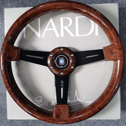 Uniwersalny 14 cal ND drewna ziarna wyścigi samochodowe kierownice + gałka zmiany biegów Deep Corn sportowe Drifting kierownica z Logo