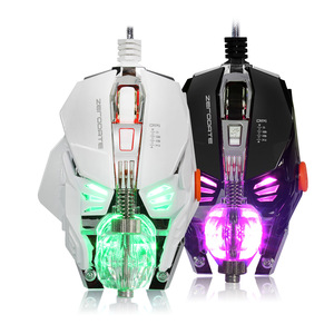 Image 2 - Professional Grade Wired Gaming Mouse 4000DPI Adjustable program USB Gamer Mice LED Backlight Optical Sens for Laptop Computer