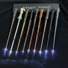 21 Kinds of Magic Wands Cosplay Sirius Hermione Dumbuliduo Magic Light Wand High Quality with Gift Box Packing