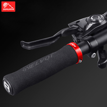 Silicone Sponge Bicycle Handlebar Grips MTB BMX Road Bike Grips Bar End Anti slip Lock ON Mountain Bike Handle Bicycle Grips rockbros bike grips mtb silicone sponge bike handlebar grips racing riding manopole mtb grips bicycle accessories