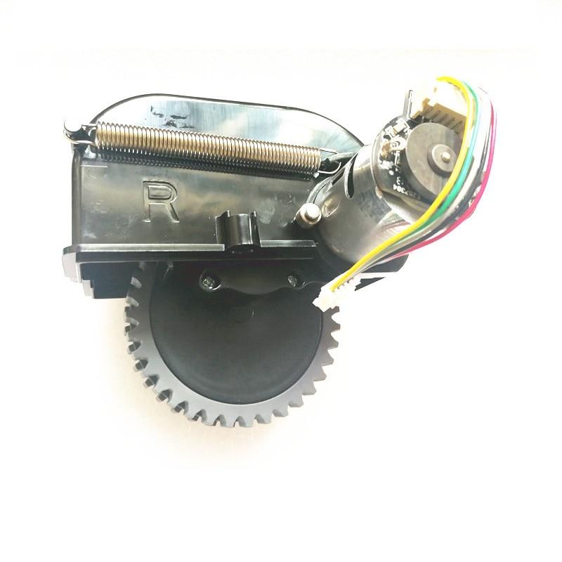 Оригинальный правый Мотор колеса для chuwi ilife V50 v55 робот пылесос Запчасти ILIFE колеса замена двигателя
