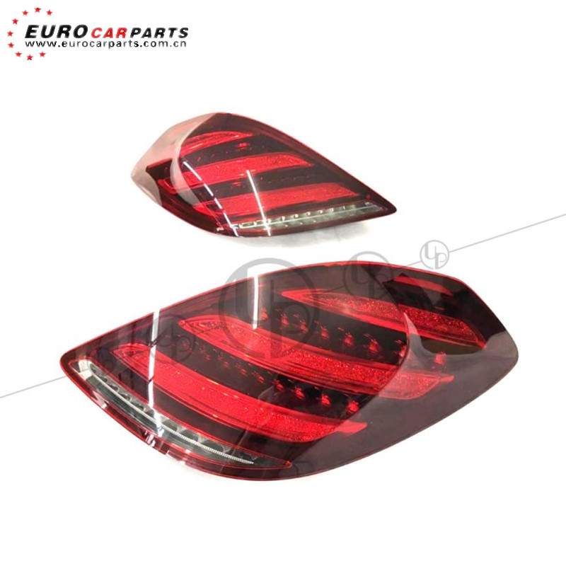 DEPO S Class W222 Tail Lamp Dynamic LED Set Facelift S63 AMG 2019 Fitting 13-17