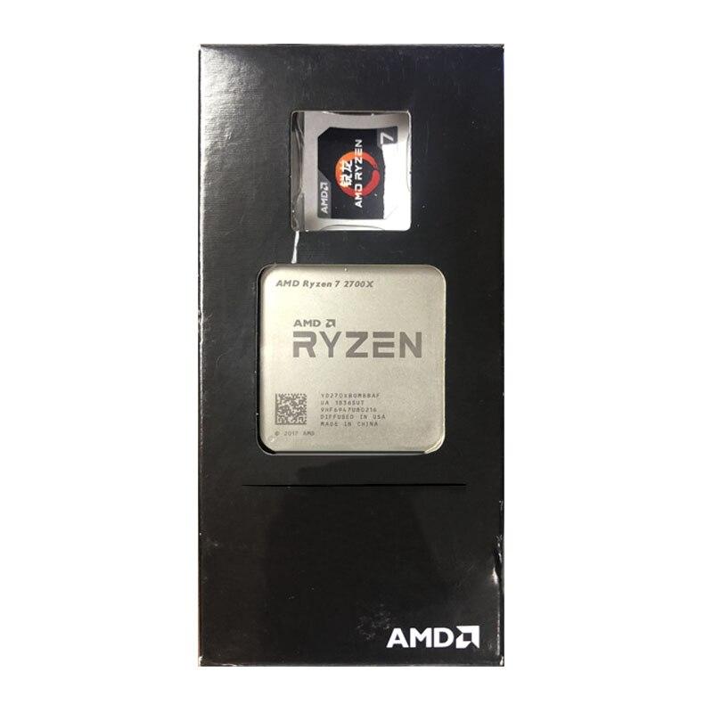 AMD Ryzen 7 2700X R7 2700X 3.7GHz Eight-Core Sinteen-Thread CPU Processor L2=4M L3=16M 105W Desktop Socket AM4 NEW